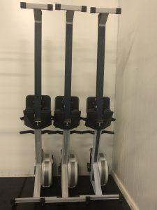 Gym equipment rowers