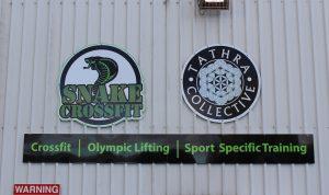 Snake Exterior Entrance