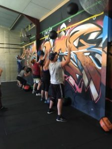 Snake Members Working Out