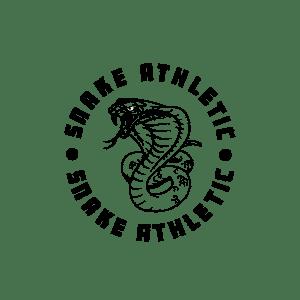 Snake Athletic Logo - Black